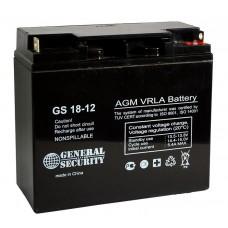 АКБ-18  Аккумулятор 12В,18Ah