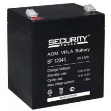 АКБ-4,5  Аккумулятор 12 В 4,5 Ah