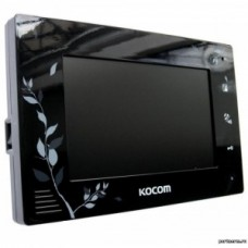 """KOCOM KCV-A374 LE(черный)  Монитор в/дом., цв., 7"""""""