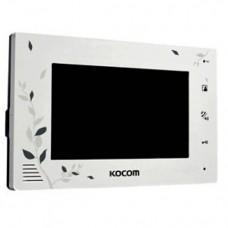 """KOCOM KCV-A374 LE(белый) в/дом., цв., 7"""""""