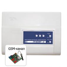Гранит-3 (USB) с УК : Прибор приемно-контрольный охранно-пожарный